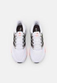 adidas Performance - EQ21 RUN - Neutral running shoes - footwear white/core black/grey six - 3