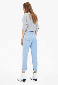 Bershka - Relaxed fit jeans - blue denim - 2