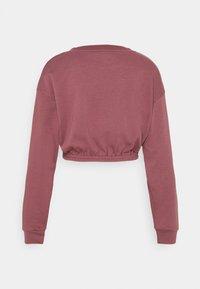 South Beach - OVERSIZED CROP - Sweatshirt - rose brown - 6