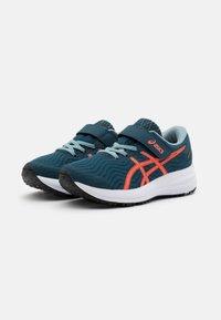 ASICS - PATRIOT 12 UNISEX - Neutral running shoes - magnetic blue/sunrise red - 1