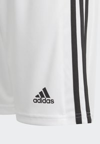 adidas Performance - SQUAD UNISEX - Krótkie spodenki sportowe - white - 6