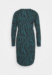JDY - JDYIVY LIFE DRESS - Day dress - atlantic deep/black - 1