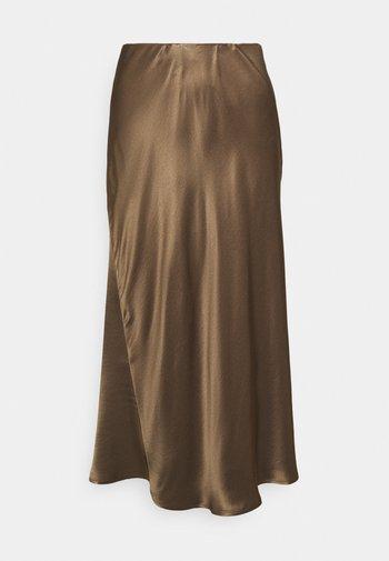 ONALA - Maxi skirt - brown