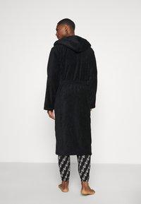Moschino Underwear - BATHROBE - Badekåpe - black - 2