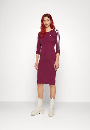STRIPES DRESS - Vestido ligero - victory crimson