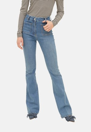 Bootcut jeans - blu