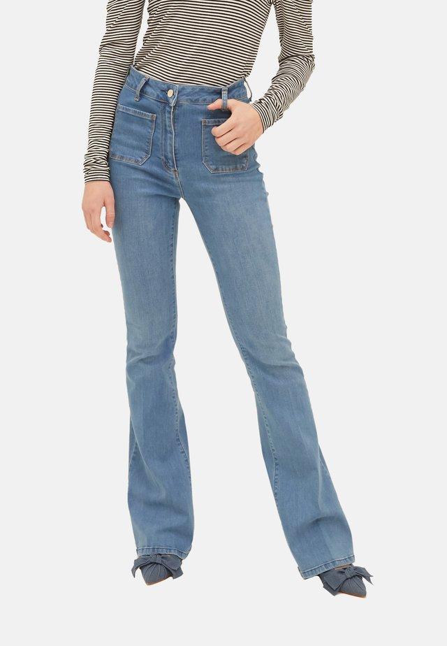 Jeans bootcut - blu