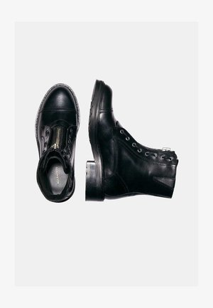 ARIEL - Lace-up ankle boots - black