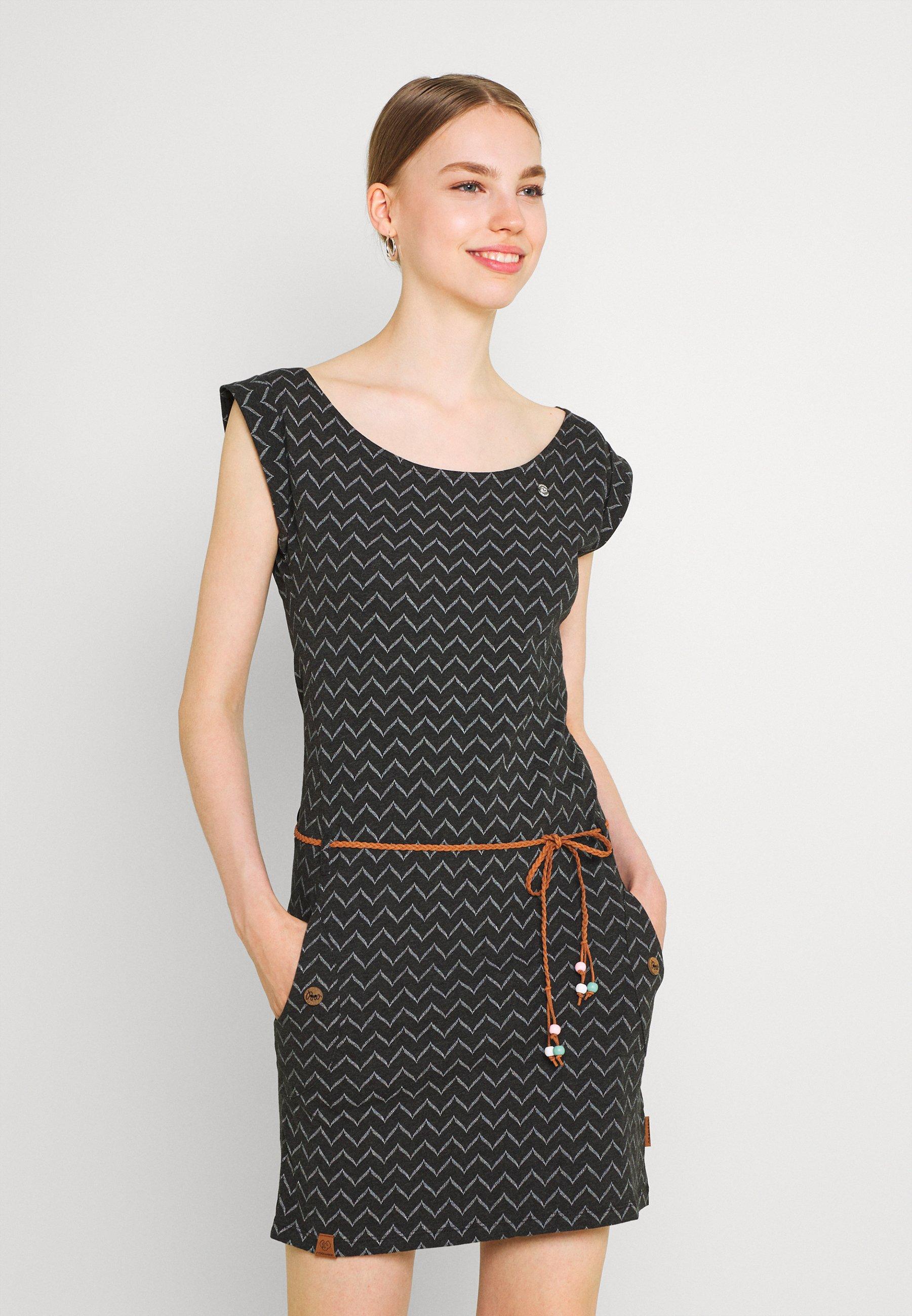 Women TAG ZIG ZAG - Shift dress