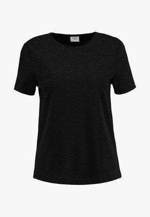 T-shirt imprimé - black/black