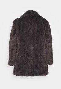 Dorothy Perkins Curve - LONG LINE COAT - Vinterfrakker - grey - 8