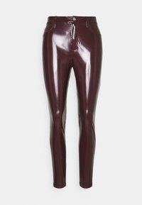 River Island - Leggings - burgundy - 0
