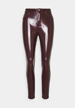 Leggings - Trousers - burgundy