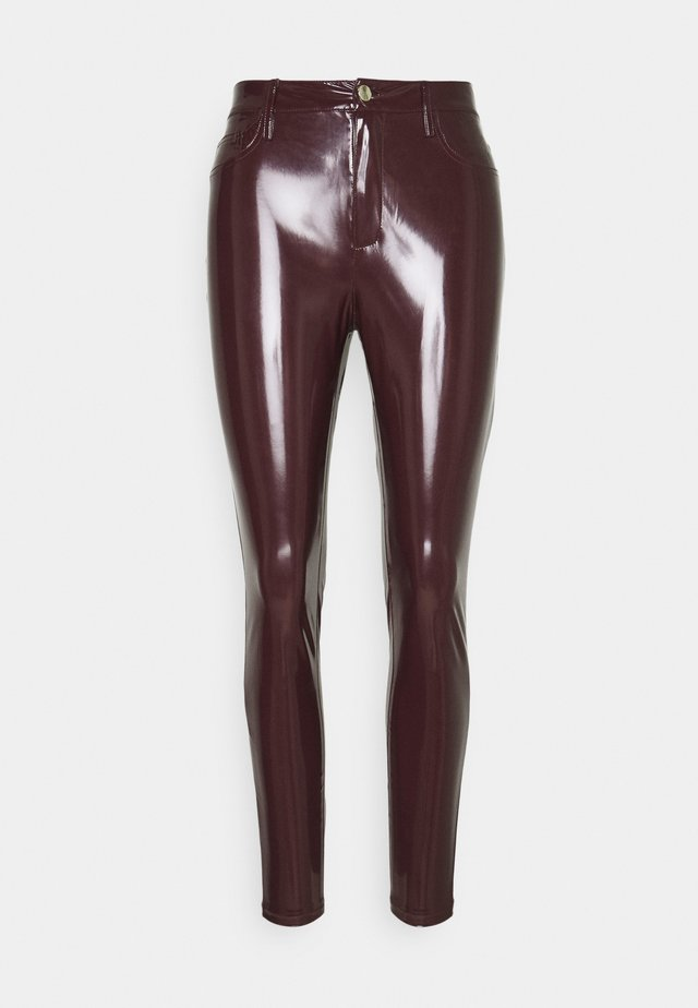 Leggingsit - burgundy