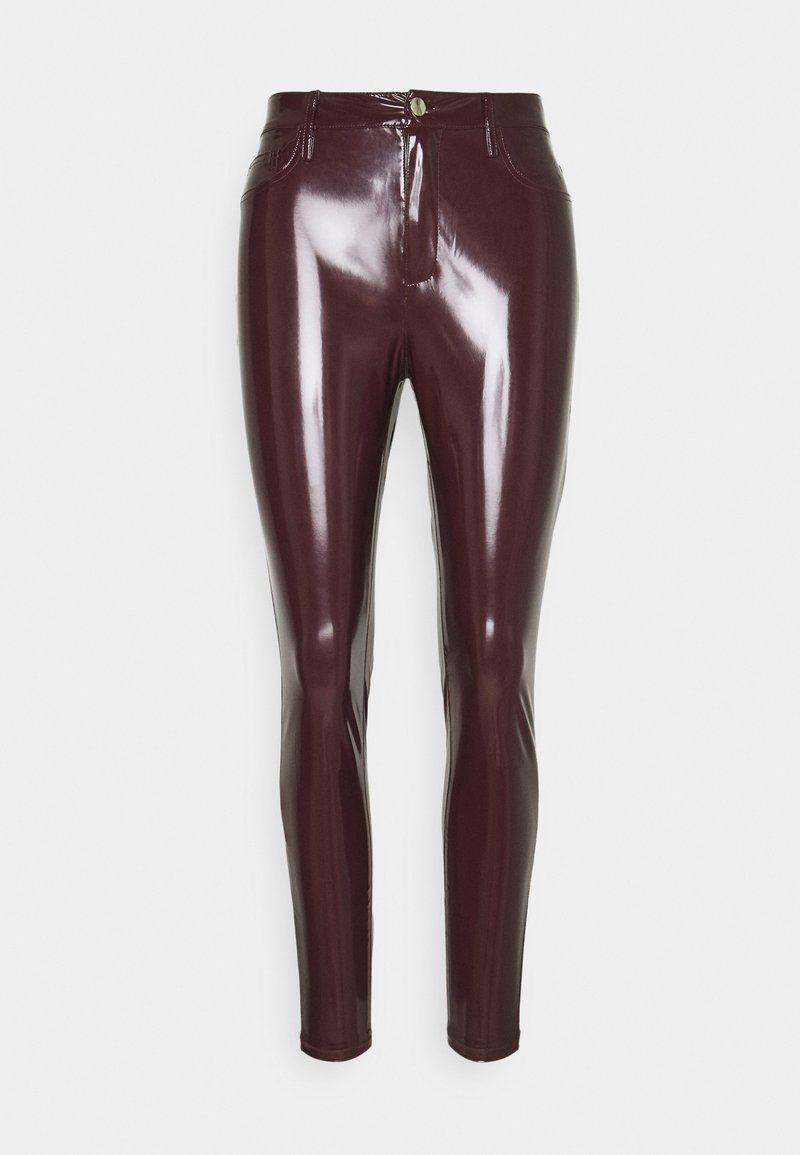 River Island - Leggings - burgundy
