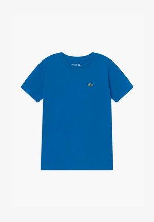 LOGO UNISEX - Jednoduché triko - utramarine