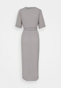 Vero Moda Tall - VMALONA CALF DRESS - Jersey dress - navy blazer/white - 1
