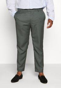 River Island - B&T MORMONT - Pantalon de costume - green - 0