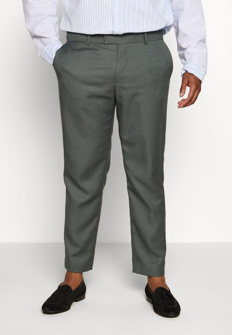 River Island - B&T MORMONT - Pantalon de costume - green