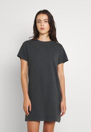 CLOVER DRESS - Jersey dress - off black