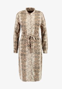 ICHI - IXVERO - Shirt dress - tapioca - 4