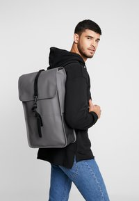 Rains - BACKPACK - Rugzak - charcoal - 1