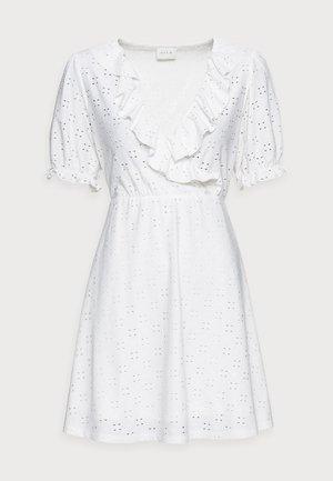 VITRESSY WRAP DRESS - Jersey dress - cloud dancer