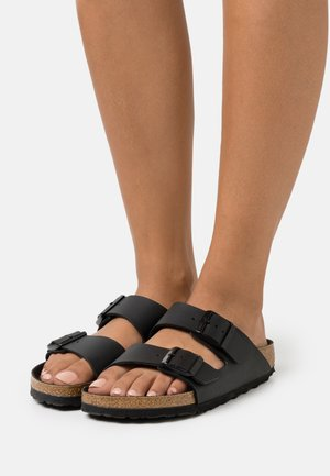 ARIZONA BF TRIPLES  - Sandalias planas - black