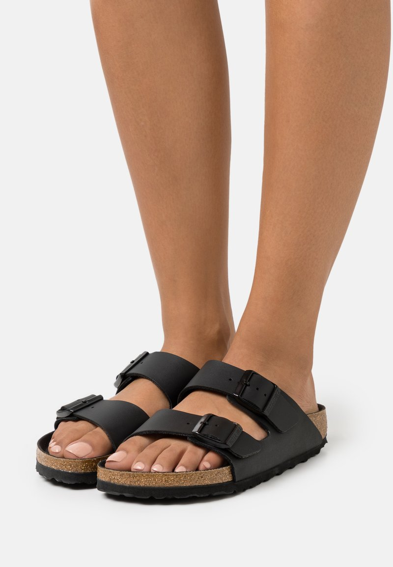 Birkenstock - ARIZONA BF TRIPLES  - Klapki - black