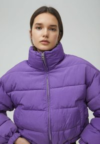 PULL&BEAR - Winter jacket - mottled purple - 3