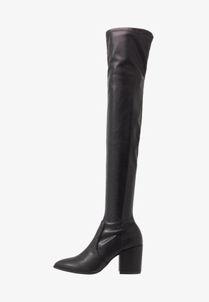 JANEY - Over-the-knee boots - black paris