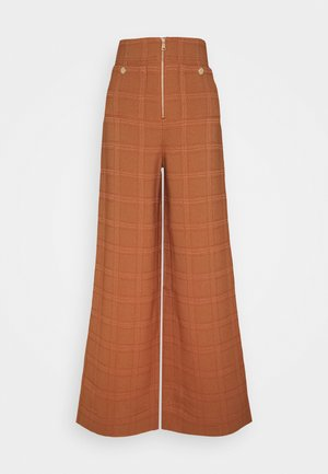 DO RIGHT PANT - Trousers - tobacco
