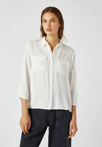 PULL&BEAR - Camicia - white - 0