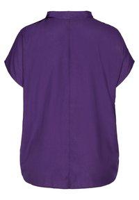 Zizzi - MIT BINDEDETAIL - T-shirt print - purple - 4