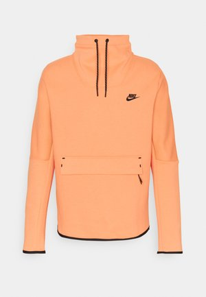 Sweatshirt - orange frost/black