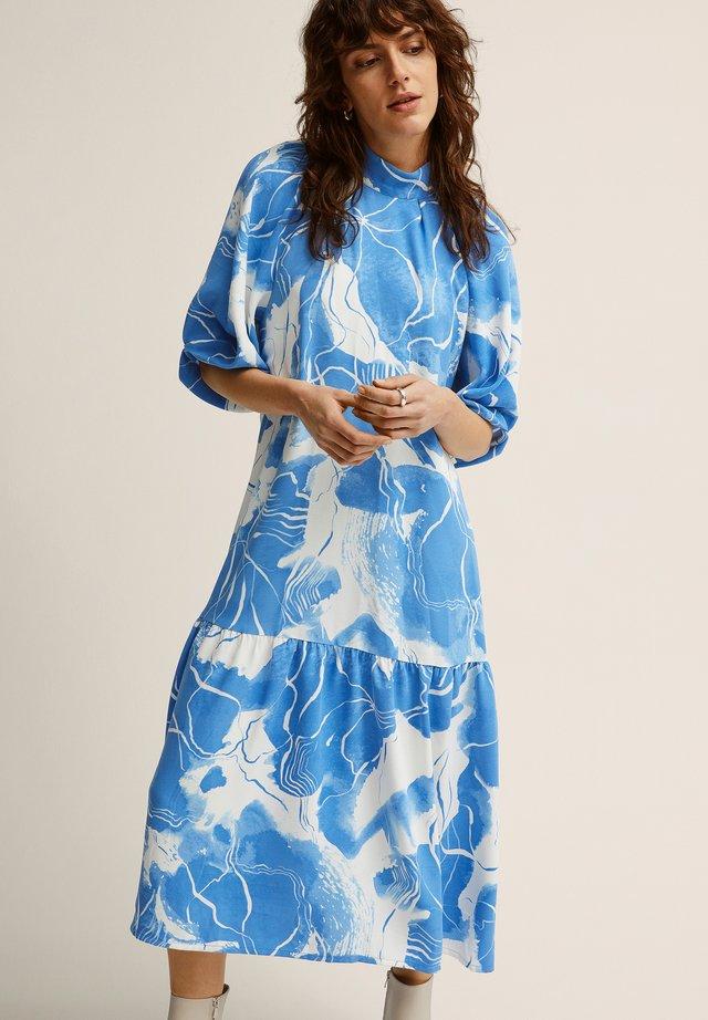 Robe d'été - blue print