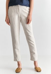 TATUUM - JUKI  - Trousers - beige melange - 0