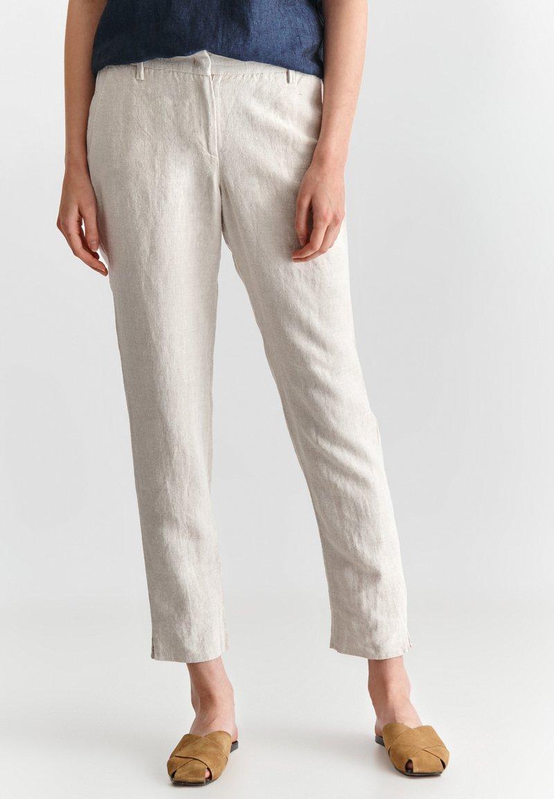 TATUUM - JUKI  - Trousers - beige melange