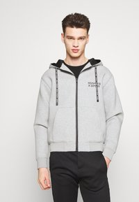 The Kooples - veste en sweat zippée - grey - 0