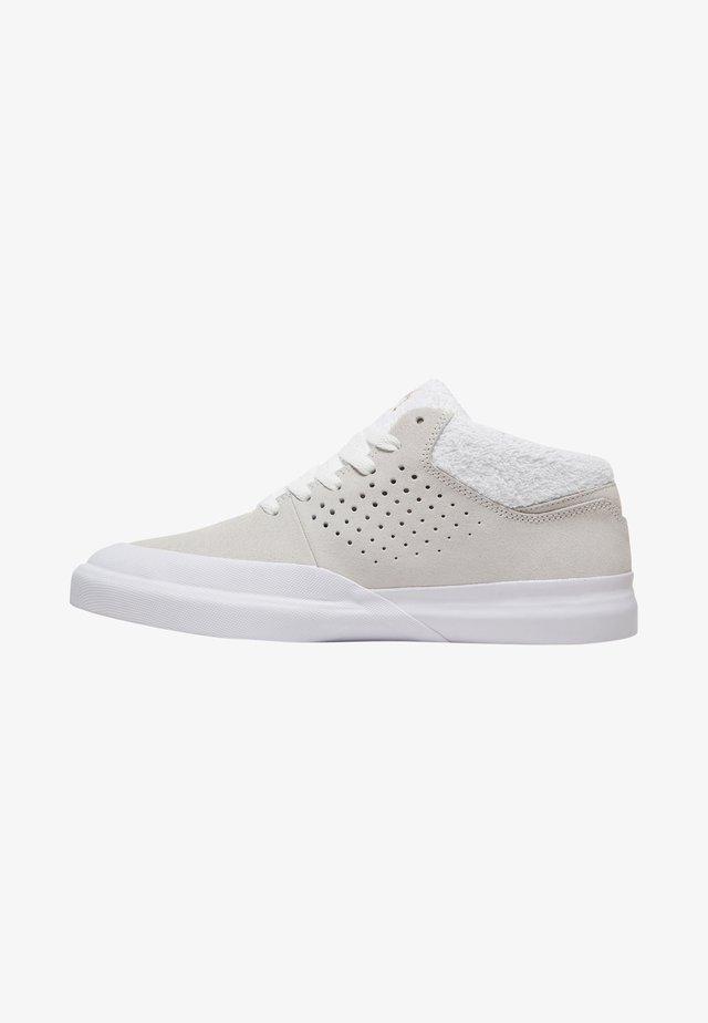 Chaussures de skate - white/gold