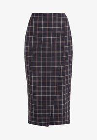 Strenesse - SAROTA - Pencil skirt - dark blue - 4