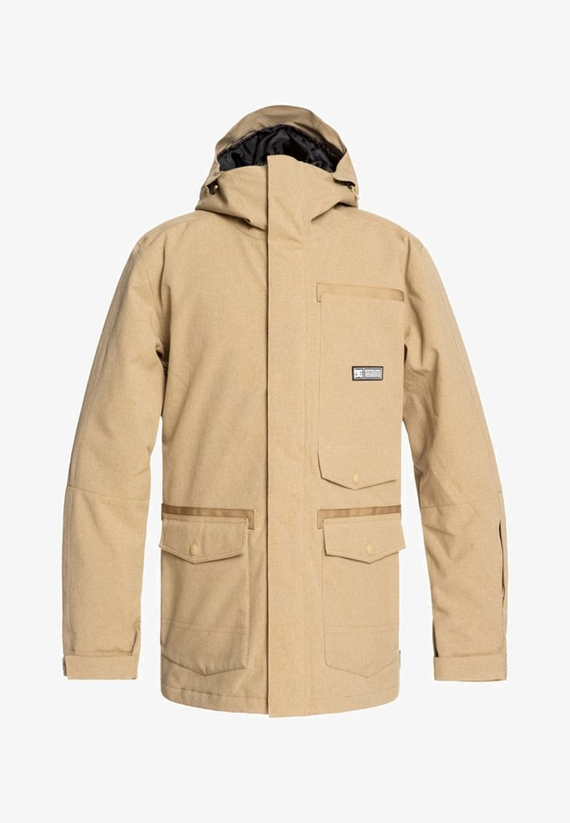 SERVO - Snowboard jacket - beige