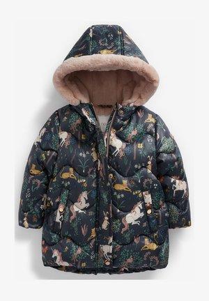 SHOWER RESISTANT - Winter coat - dark blue