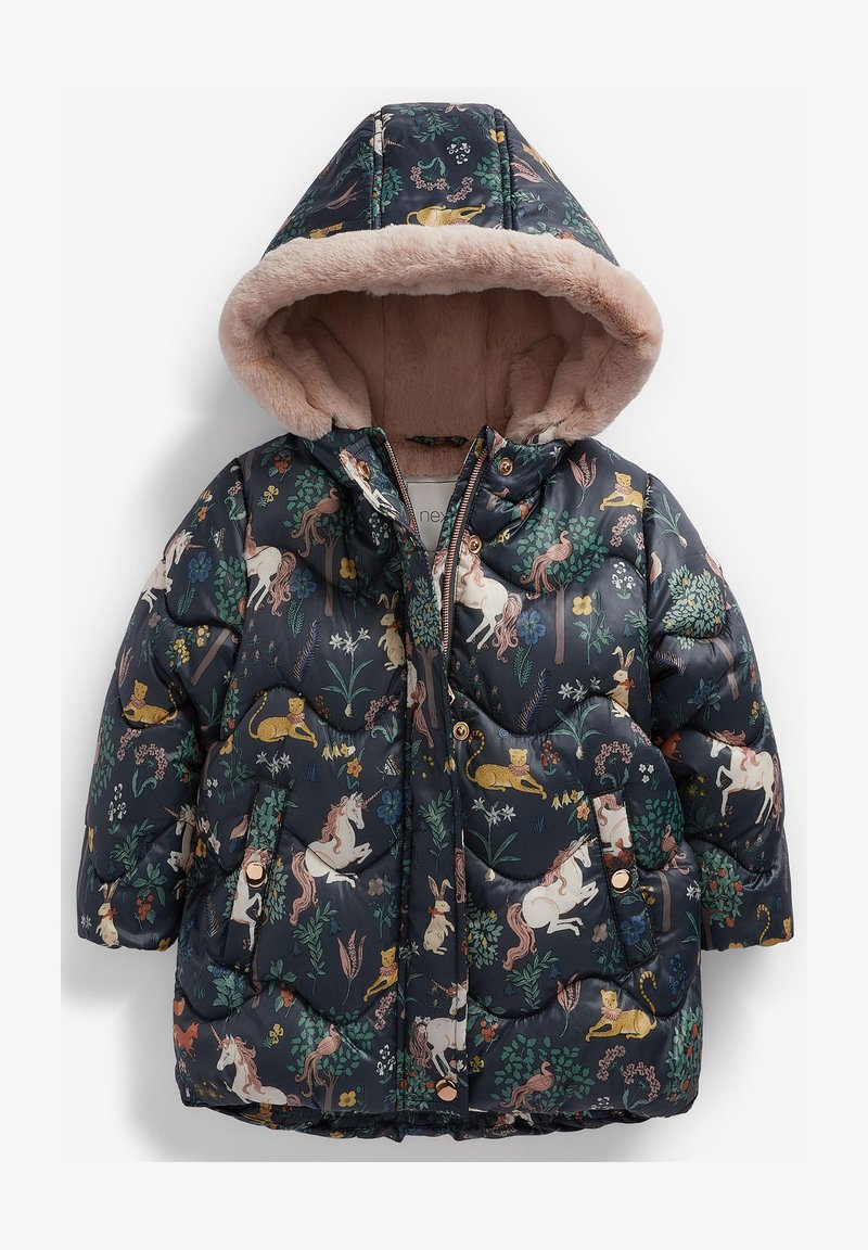 Next - SHOWER RESISTANT - Winter coat - dark blue
