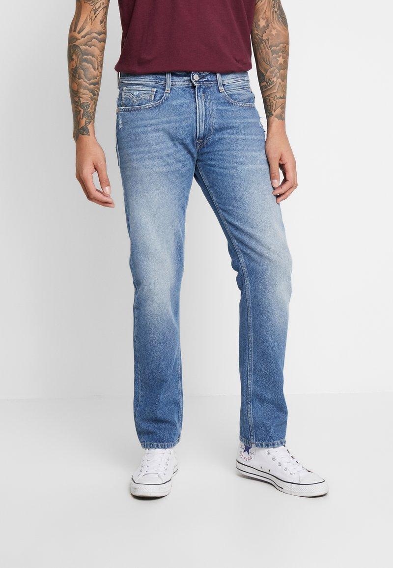 Replay - ROCCO - Straight leg jeans - medium blue