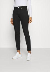 Tommy Jeans - SYLVIA SUPER SKNY - Jeans Skinny Fit - malmo black - 0