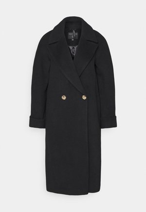 BOYFRIEND PREMIUM COAT - Wollmantel/klassischer Mantel - black
