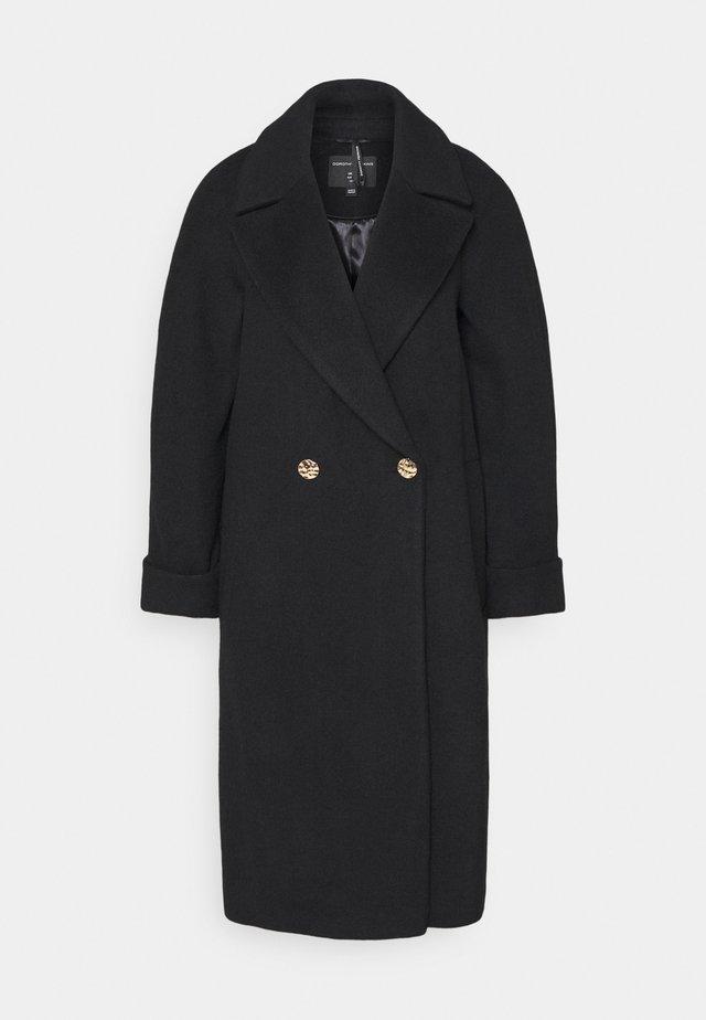 BOYFRIEND PREMIUM COAT - Płaszcz wełniany /Płaszcz klasyczny - black