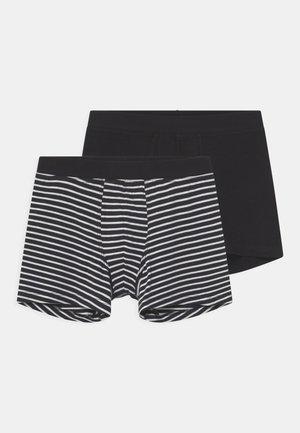 TEEN 2 PACK - Pants - black