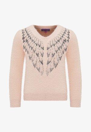 Strickpullover - pink